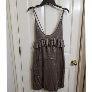 Stella McCartney metallic dress